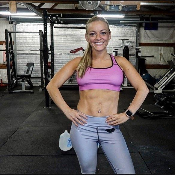 Mackenzie McKee poses in the gym