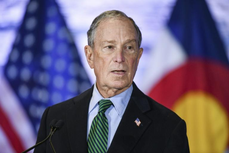 "Democratic presidential candidate Michael Bloomberg defends a policy by his news organization to steer clear of certain coverage of him: ""People have said to me, 'How can you investigate yourself?' And I said, 'I don't think you can'"""