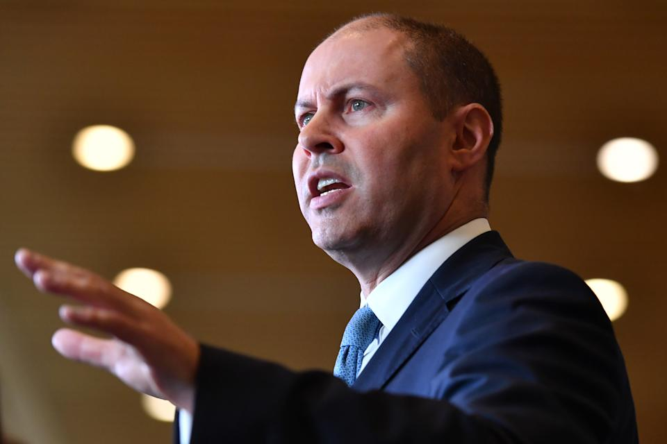 Treasurer Josh Frydenberg is due to hand down this year's Federal Budget on 11 May. Source: Getty