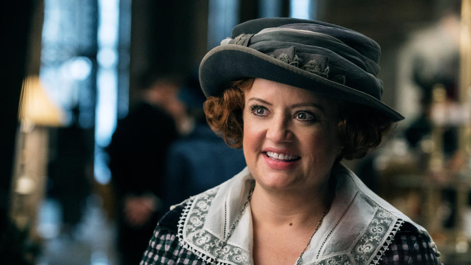 Lucy Davis as Etta Candy in 'Wonder Woman'. (Credit: Clay Enos/Warner Bros)