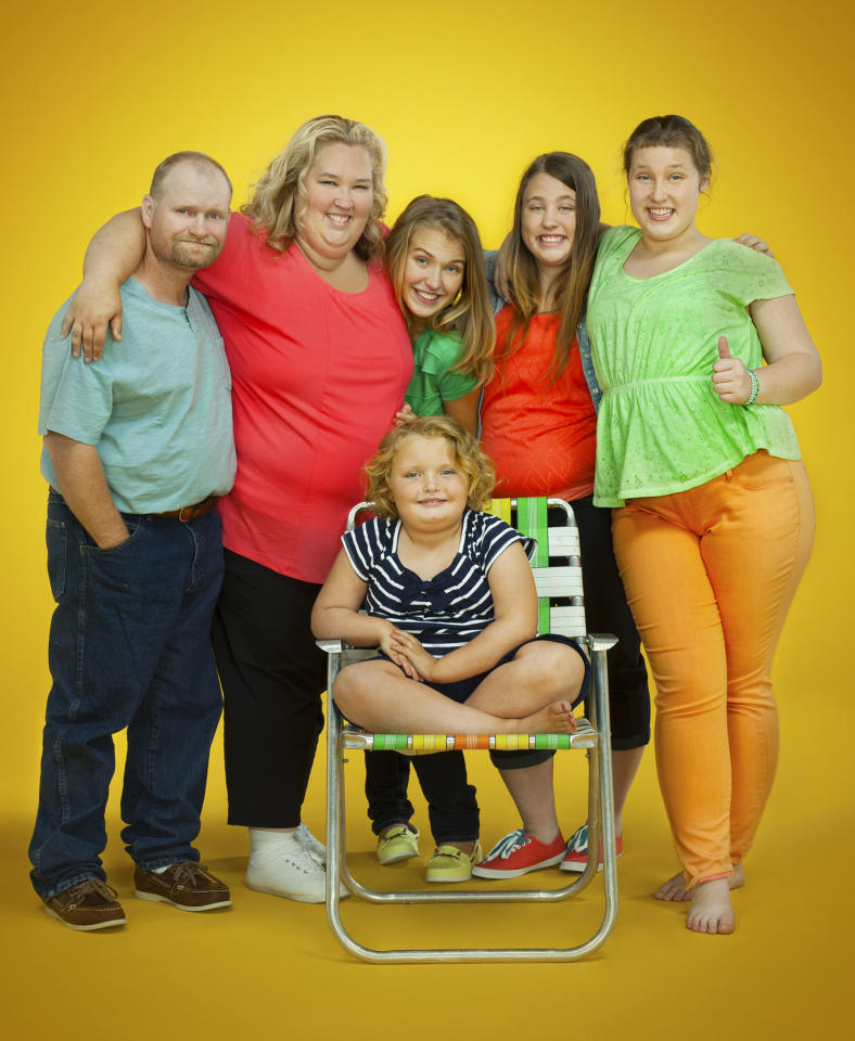 "The Shannon & Thompson family in Season 2 of TLC's ""Here Comes Honey Boo Boo."""