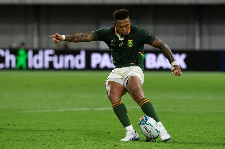 Elton Jantjies has scored 281 Test points since his Springboks debut in 2012