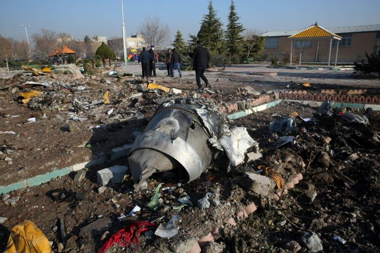 Iran denied Western claims that the airliner had been downed by a missile for days before acknowledging that version was correct and now faces huge international pressure to ensure the rest of its investigation is transparent (AFP Photo/-)