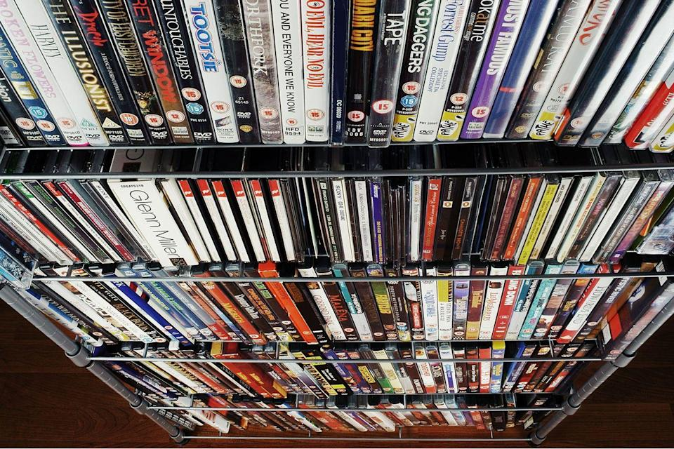 <p>This one might sting a little. People carefully curate their movie collection only to find the technology get phased out. You don't need to abandon all of your favorites, but you could easily clear up some space in your house by dumping the movies that are available to stream. </p>