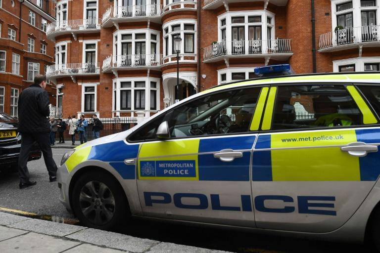 If Assange leaves the Ecuadorian embassy, where he has spent five years, he faces arrest by British police for previously jumping bail