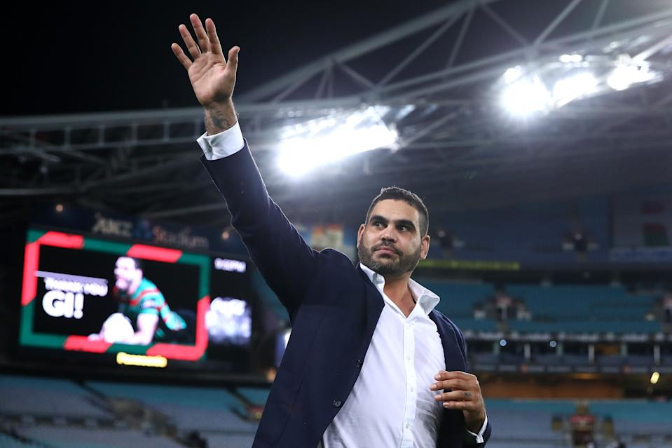 Greg Inglis was admitted to a rehabilitation centre as he struggles to cope with life after rugby league
