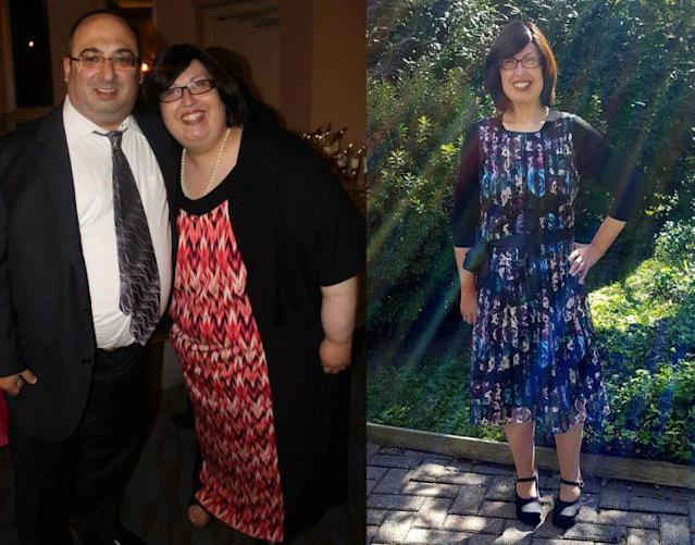 Esther Hollander's life is improved since her weight loss.