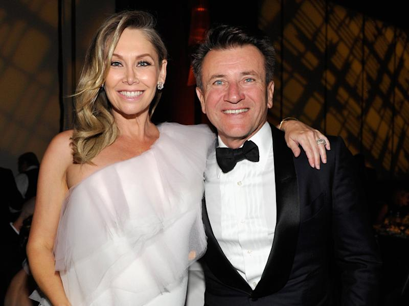 Kym Johnson And Robert Herjavec Gave Their Newborn Twins The