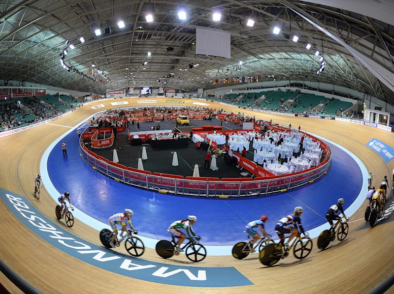 The medical room at the Manchester Velodrome was 'chaotic and disorganised': Getty