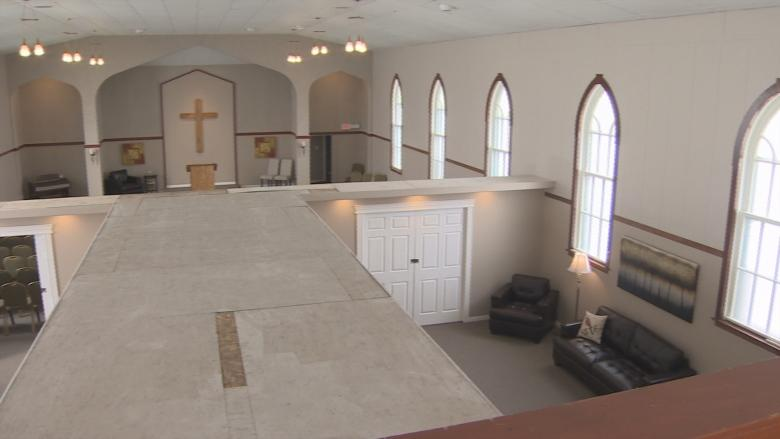 Former Glace Bay church turned into funeral home