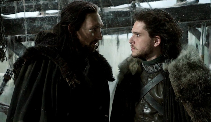Did this encounter between Jon and his uncle Benjen in episode one reveal the show's ending? Source: HBO
