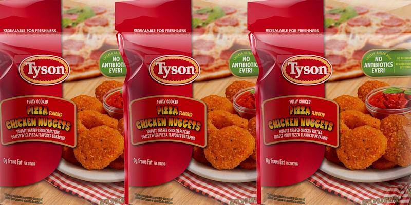Pizza-Flavored Chicken Nuggets