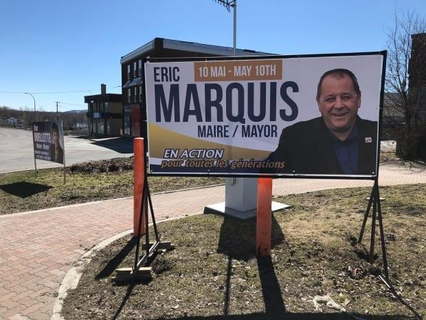 Eric Marquis is a candidate for mayor of Edmundston. He is waiting to see how the suspension of the municipal election in areas under lockdown will impact his campaign.