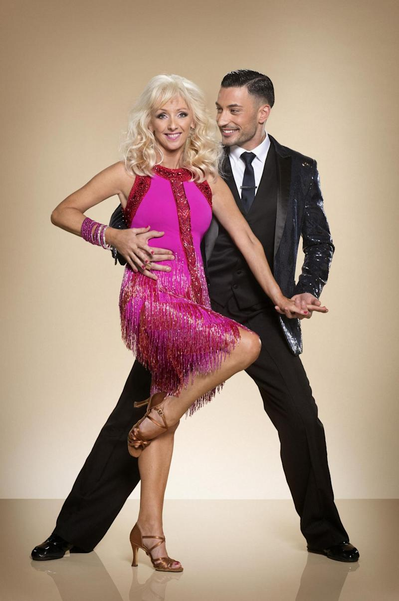 Leading the way: Debbie McGee and Giovanni Pernice (PA)