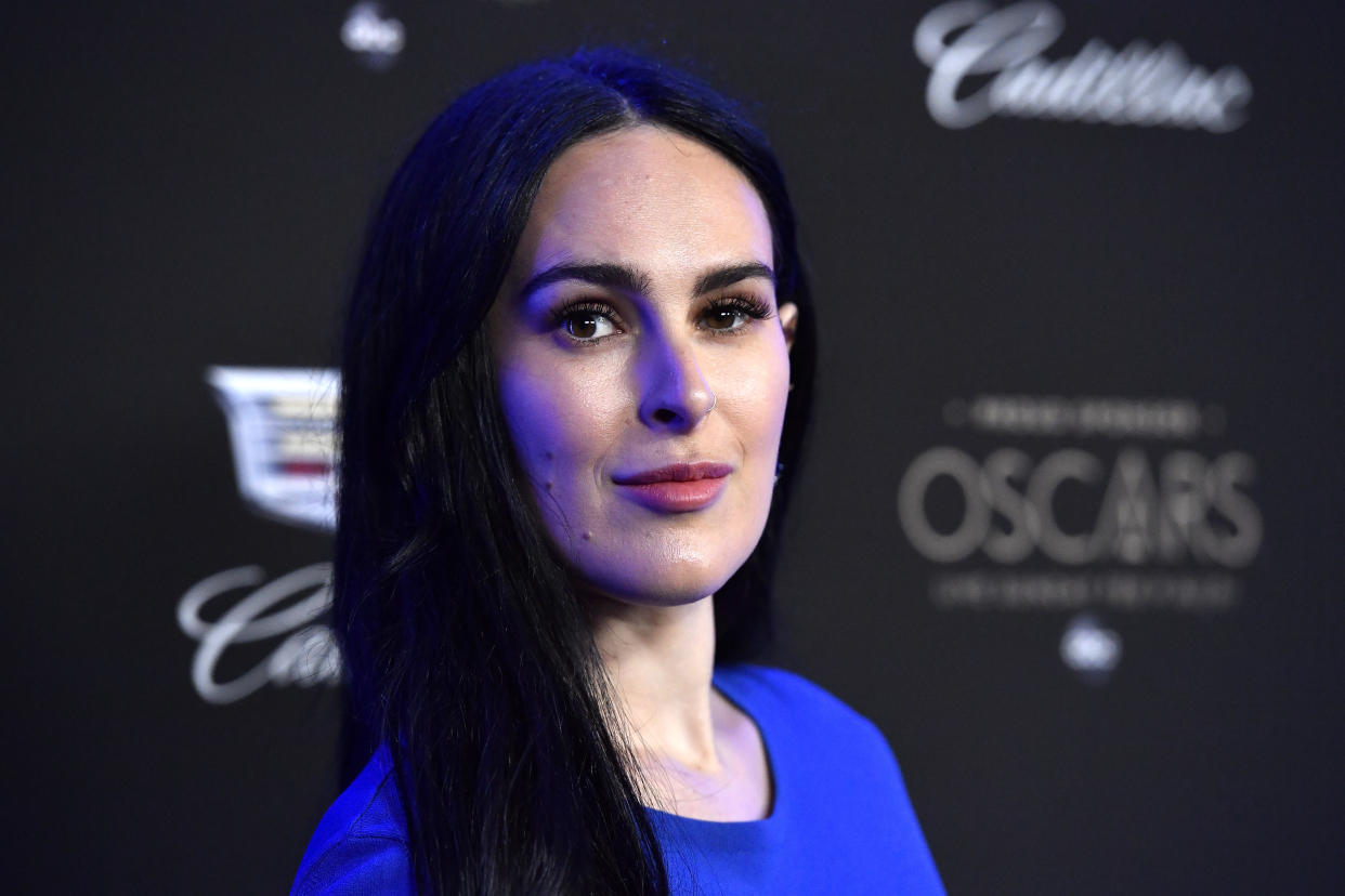 Rumer Willis vows to love her legs in poem posted to Instagram. (Photo: Getty Images)