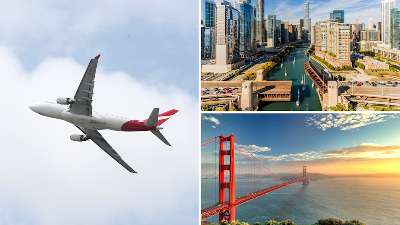 Qantas launches direct flights from Brisbane to Chicago and San Francisco