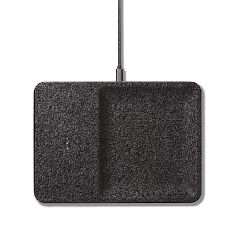 "If you're looking for a gift that's sophisticated and functional, check out Courant's wireless charging station. The pebbled leather (which comes in three other different colors) is so smooth, and they use it to juice up anything from iPhones to AirPods sans charger. $175, Amazon. <a href=""https://www.amazon.com/dp/B07HM86KXM/ref=twister_B07HM9C31D?_encoding=UTF8&th=1"" rel=""nofollow noopener"" target=""_blank"" data-ylk=""slk:Get it now!"" class=""link rapid-noclick-resp"">Get it now!</a>"