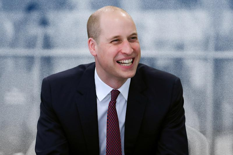 Prince William Has Learned the Secret to Graceful Balding