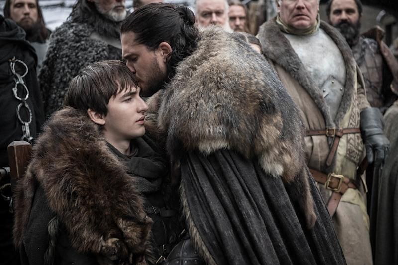 Bran Stark's Intense Stare in the Season 8 Premiere of   Game of Thrones Is the Best Meme in the Seven Kingdoms