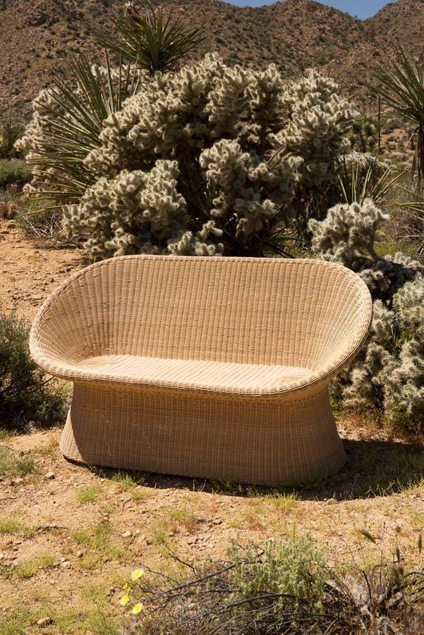 "<p>How cute is this <a href=""https://www.popsugar.com/buy/Pierce-Rattan-Two-Seater-Chair-451464?p_name=Pierce%20Rattan%20Two-Seater%20Chair&retailer=urbanoutfitters.com&pid=451464&price=399&evar1=casa%3Aus&evar9=46194910&evar98=https%3A%2F%2Fwww.popsugar.com%2Fhome%2Fphoto-gallery%2F46194910%2Fimage%2F46194933%2FPierce-Rattan-Two-Seater-Chair&list1=shopping%2Cfurniture%2Csmall%20space%20living%2Coutdoor%20decorating%2Cpatios&prop13=api&pdata=1"" class=""link rapid-noclick-resp"" rel=""nofollow noopener"" target=""_blank"" data-ylk=""slk:Pierce Rattan Two-Seater Chair"">Pierce Rattan Two-Seater Chair</a> ($399, originally $549)?</p>"