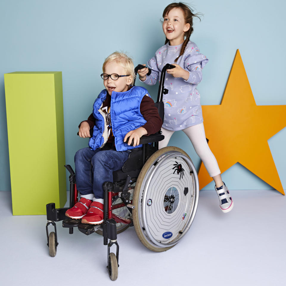 People are loving M&S' new kidswear range for children with disabilities [Photo: M&S]