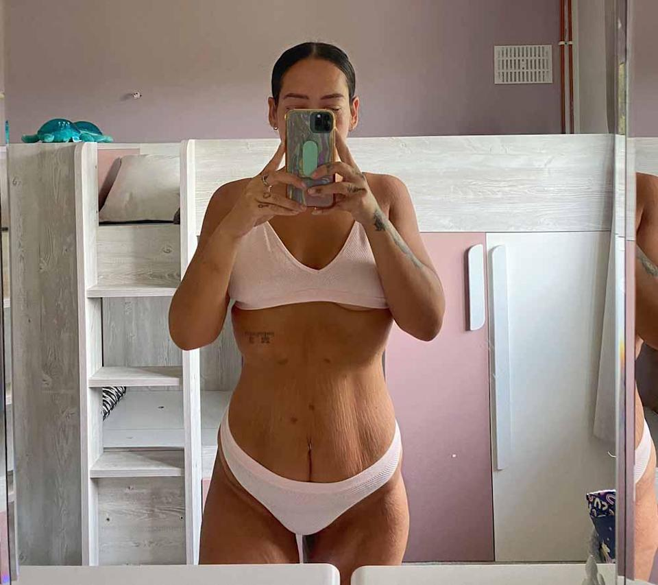 Lekenah feels confident in her new body. PA REAL LIFE COLLECT