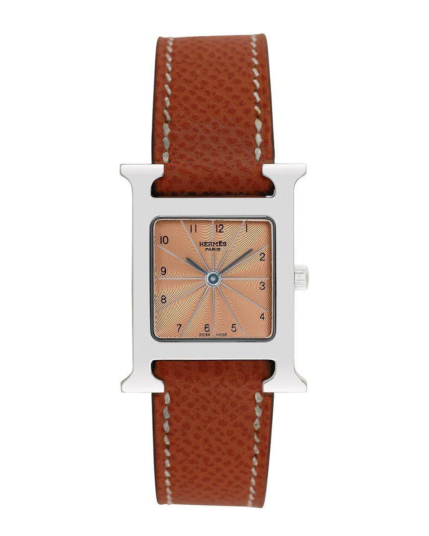 """<p><strong>Hermès</strong></p><p><strong>$1739.00</strong></p><p><a href=""""https://go.redirectingat.com?id=74968X1596630&url=https%3A%2F%2Fwww.gilt.com%2Fboutique%2Fproduct%2F176385%2F125168130%2F%3Fdsi%3DBTQ-1254831834--2b81599e-02e1-41c9-a671-043b312fc436%26lsi%3Dd5b83ff2-6ac6-4c24-91f5-c26165e20647%26pos%3D3&sref=https%3A%2F%2Fwww.cosmopolitan.com%2Fstyle-beauty%2Ffashion%2Fg35996088%2Fvintage-designer-shopping-sale-gilt%2F"""" rel=""""nofollow noopener"""" target=""""_blank"""" data-ylk=""""slk:SHOP NOW"""" class=""""link rapid-noclick-resp"""">SHOP NOW</a></p><p>Your wrist will never be the same after this fashionable purchase. </p>"""