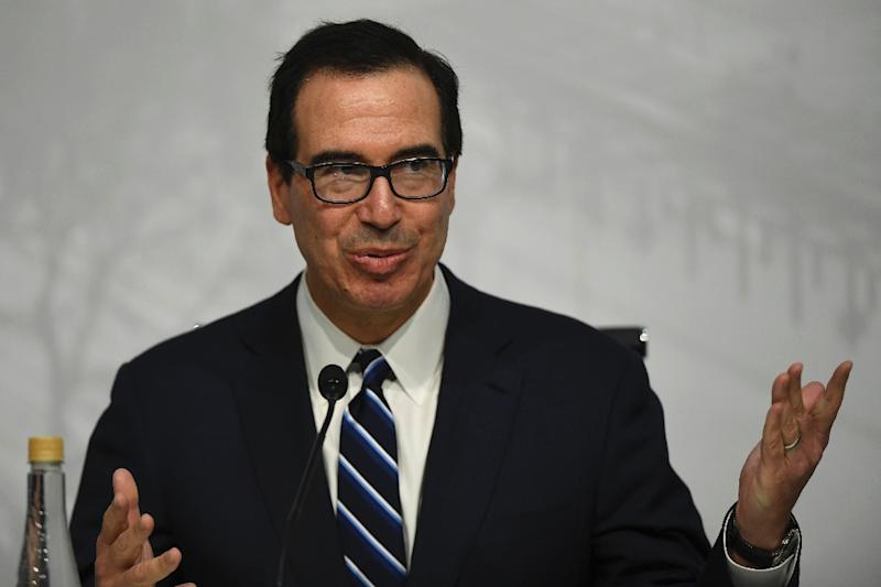 US Secretary of the Treasury Steven Mnuchin said there were several factors behind the recent fall in the Chinese yuan or renminbi, including economic issues in China