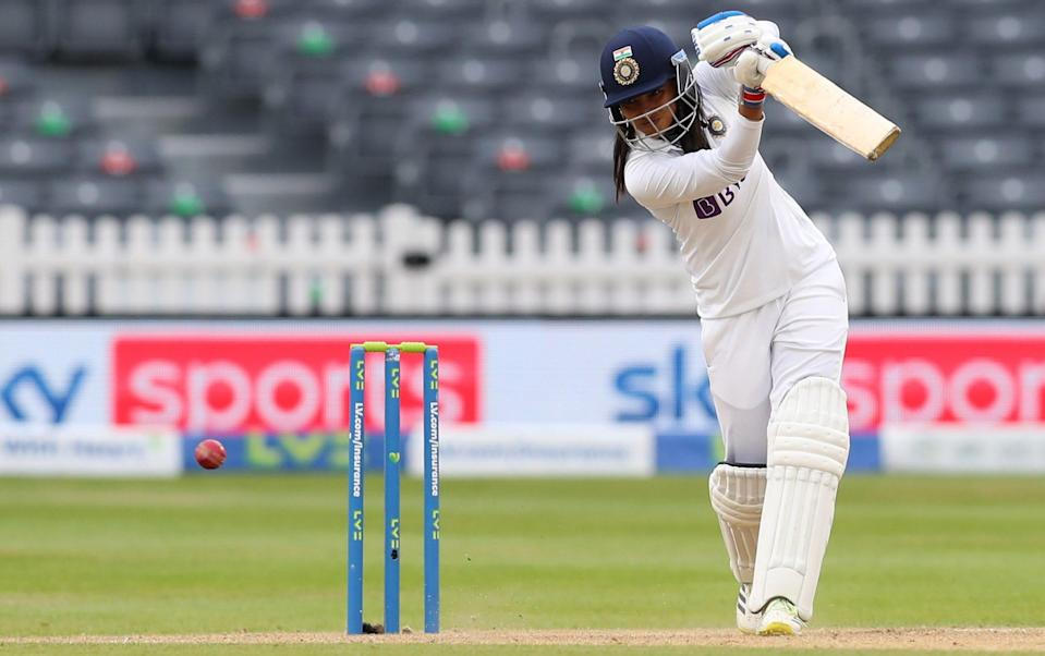 Sneh Rana hits unbeaten 80 to frustrate England as India escape with draw - GETTY IMAGES