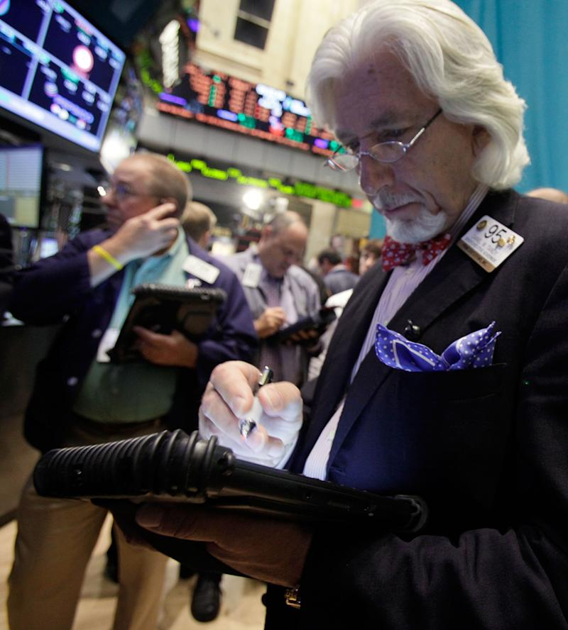 Stocks mixed in thin trading; oil creeps over $96