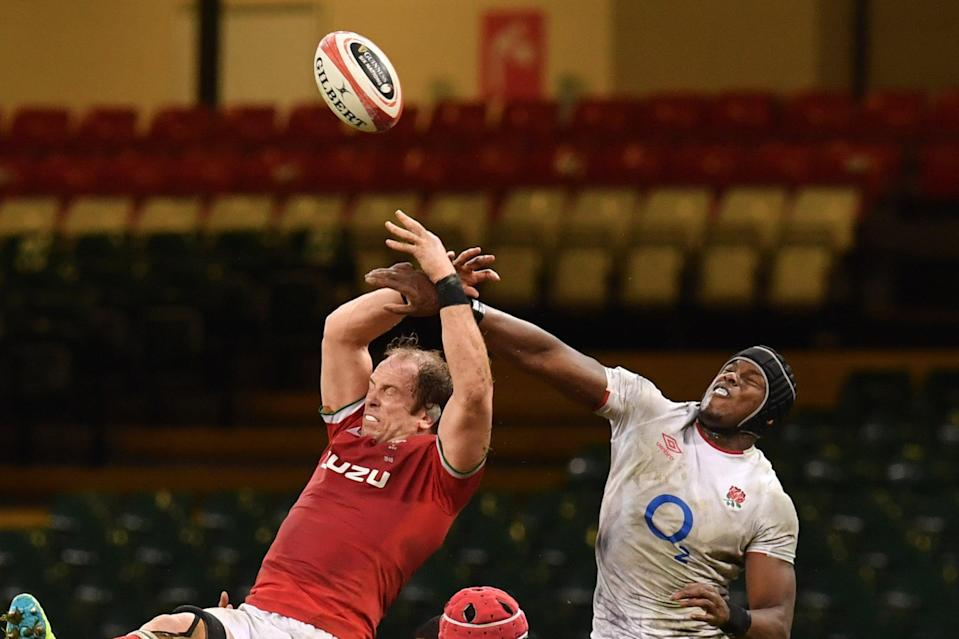 <p>Maro Itoje conceded five of England's 14 penalties against Wales in Cardiff</p> (AFP via Getty Images)