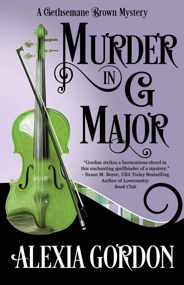 <p><span><strong>Murder in G Major</strong></span> is quickly becoming a classic in the mystery genre. This award-winning novel is the first book in a five-part series that follows Gethsemane, a woman housesitting in Ireland and working as a music teacher. Of course, there's a catch when you're asked to housesit a gorgeous house in exchange for a job . . .</p>