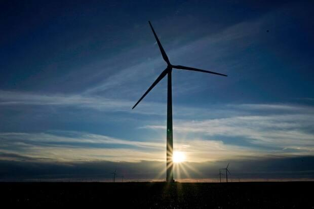 The Bekevar Wind Energy Project aims to accelerate renewable energy goals in Saskatchewan. (Charlie Riedel/Associated Press - image credit)