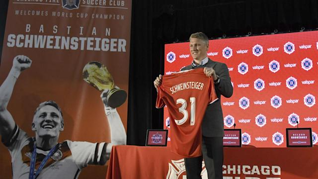 Having been unveiled as a Chicago Fire player, the former Germany star is determined to show that his career is not on the wane in MLS.