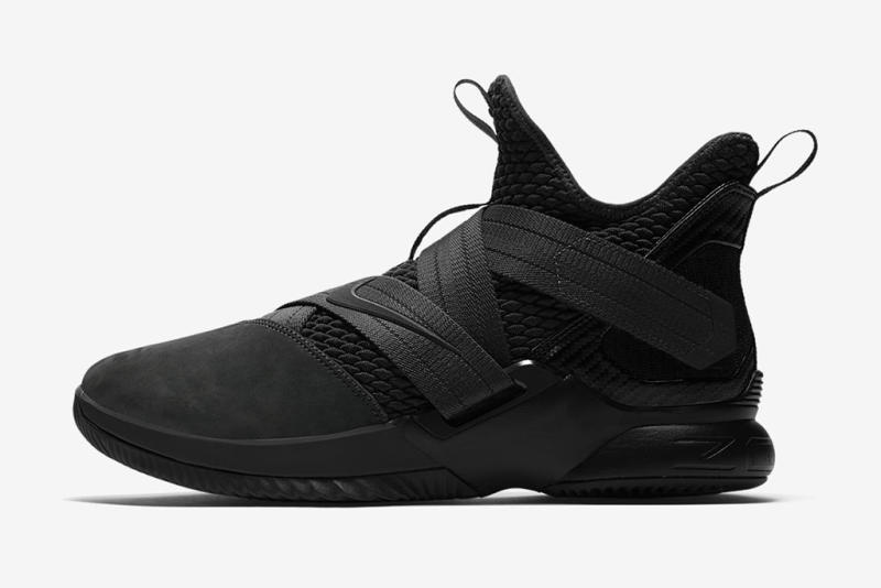 0894bd52fa5 Nike Reveals LeBron Soldier 12  Dark 23  Inspired By LeBron s Social Media  Blackout