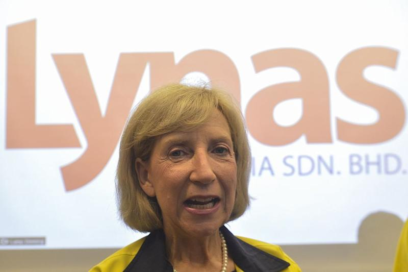 Lynas chief executive Amanda Lacaze said she was confident Lynas would pass the environmental review by the Pakatan Harapan government. ― Picture by Mukhriz Hazim