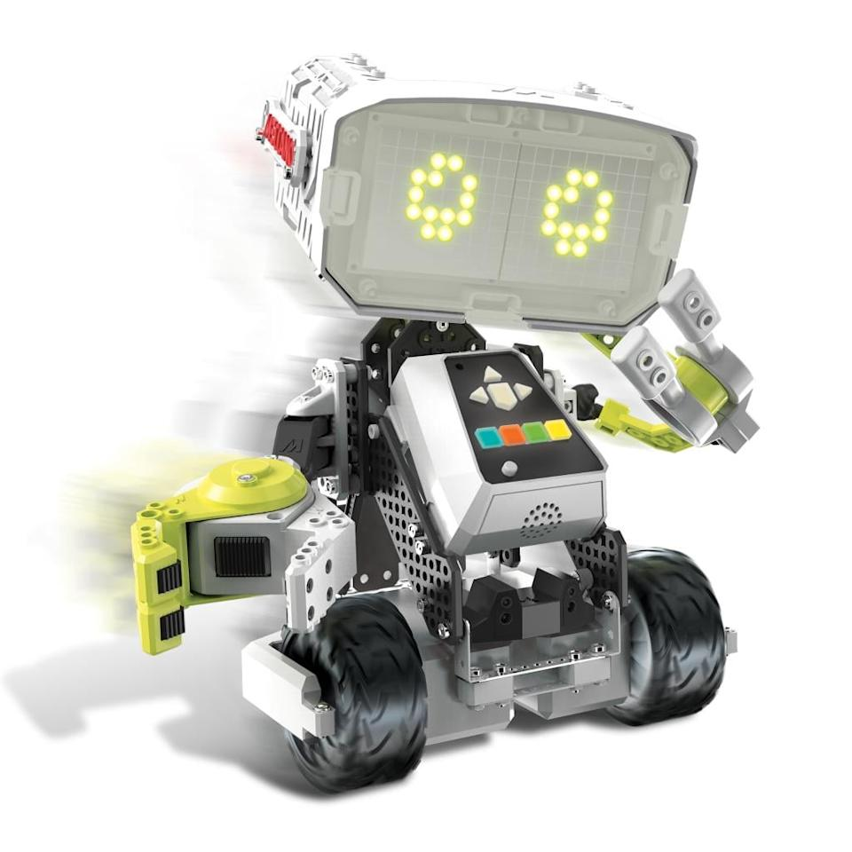"""<p><a rel=""""nofollow"""" href=""""https://www.popsugar.com/buy/M.A.X%20Robotic%20Interactive%20Toy%20With%20Artificial%20Intelligence-110430?p_name=M.A.X%20Robotic%20Interactive%20Toy%20With%20Artificial%20Intelligence&retailer=amazon.com&price=123&evar1=moms%3Aus&evar9=42507339&evar98=https%3A%2F%2Fwww.popsugar.com%2Fmoms%2Fphoto-gallery%2F42507339%2Fimage%2F44106672%2FMX-Robotic-Interactive-Toy-Artificial-Intelligence&list1=holiday%2Ctoys%2Cgift%20guide%2Cstem%2Cparenting%20gift%20guide%2Ckid%20shopping%2Choliday%20gift%20guide&prop13=desktop&pdata=1"""" rel=""""nofollow"""">M.A.X Robotic Interactive Toy With Artificial Intelligence</a> ($123)</p> <p><strong>Age range:</strong> 10 and up</p> <p><strong>Concepts and skills it builds on:</strong> coding, technology, and robotics</p>"""