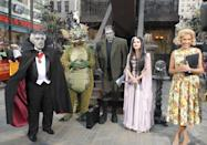 <p>Apart from Natalie, Meredith, Hoda, and Tiki, Al got covered in grey face makeup and donned his finest vampire attire as Grandpa Munster. </p>