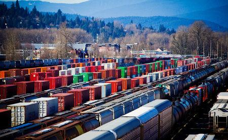 FILE PHOTO: The Canadian Pacific railyard is pictured in Port Coquitlam.