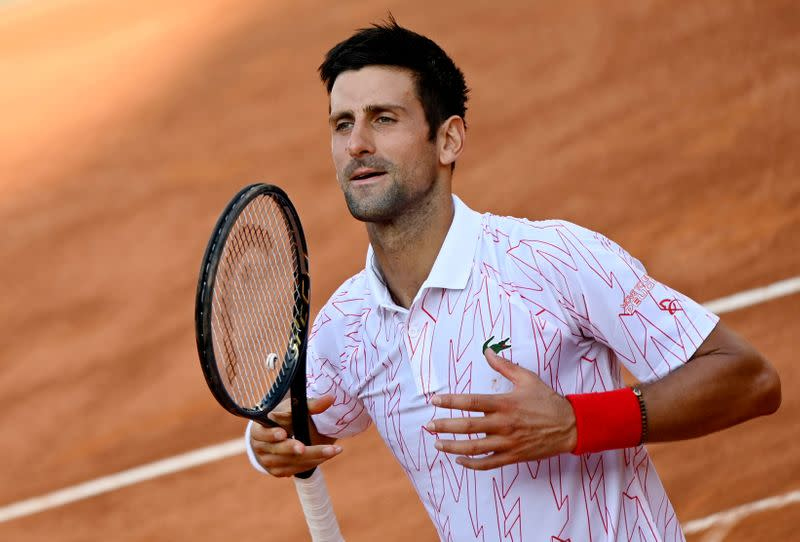 Djokovic to face Schwartzman in Italian Open final