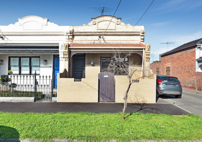 Pictured: South Melbourne home without kitchen or bathroom. Image: Marshall White Port Phillip's Kaine Lanyon