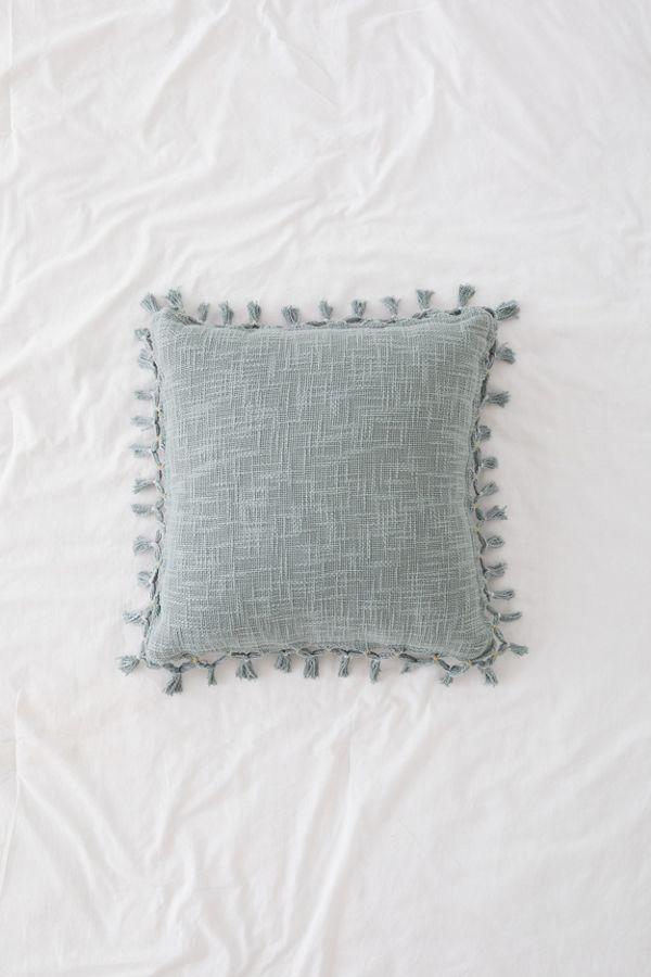 Gemma Fringe Throw Pillow