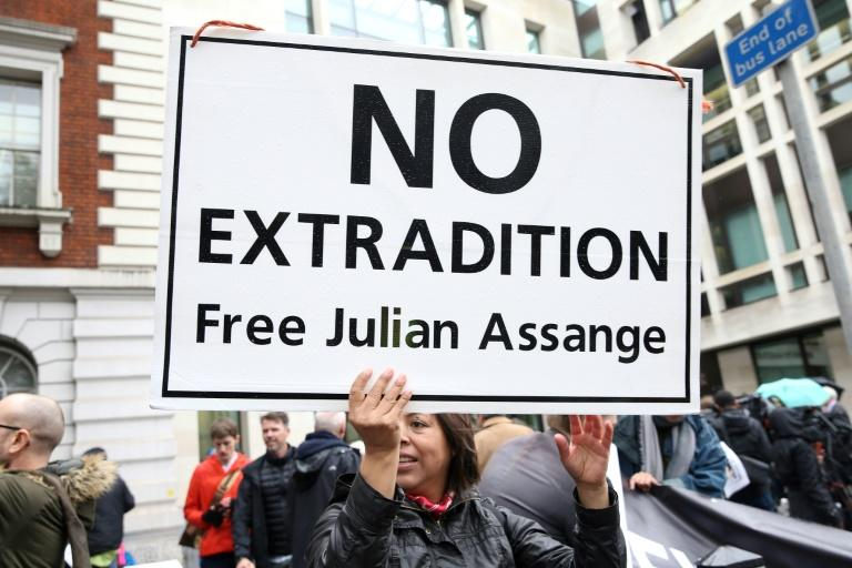 Supporters say the US charges against WikiLeaks founder Julian Assange are an infringement of press freedoms