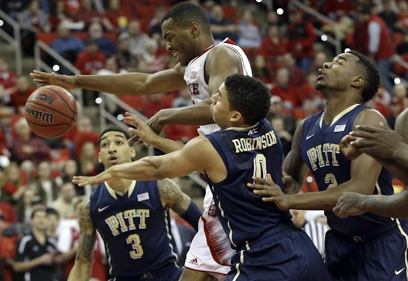 Pittsburgh beats NC State 74-62 in 1st ACC game