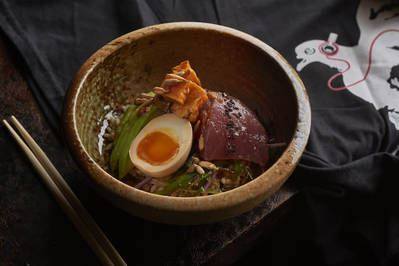 Tuna Sashimi Donburi. Photo: Neon Pigeon