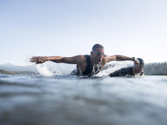 """<p>Jesse Thomas just wants to be happy. He thinks you should be happy, too.</p><p>He'll be lining up in Kona, Hawaii, to race in his second Ironman World Championship on Oct. 14. Last year he showed up at the start line burned out, with a fatigue that had crept up on him in the last few weeks of training. He finished No. 16, 23 minutes behind winner Jan Frodeno. This year, he took almost two weeks off training in June. He kicked back a little, drank the occasional beer. A foot injury even helped by slowing down his ramp back up to full workouts.</p><p>Thomas juggles being a pro athlete with running the energy bar company he co-founded called Picky Bars, and raising his family—he and his wife, Lauren Fleshman, have a four-year-old son, Jude, and Fleshman gave birth to their daughter, Zadie, on Monday. In August, he hosted two aspiring amateur triathletes over separate weekends in his hometown of Bend, Ore., giving them a window into both his workouts and his life. Luis Iturralde, 32, a structural engineer from New Orleans, and Kyle Klinger, 36, a sales and marketing executive from Austin got to train with Thomas as their prize for winning competitions run by Red Bull and Strava. <em>Listen to yourself,</em> he told them.</p><p>In triathlon, Thomas says, """"The line is so much more blurred than it is in conventional sports."""" When he tells people he's a pro triathlete, their response is usually <em>OK, yeah, cool. So what do you do for your job?</em></p><p>Almost everyone starts out swimming, biking, and running with the goal of getting in shape, although Thomas, who raced the 3,000-meter steeplechase as a student at Stanford, had always dreamed of going pro in something. The biggest step up towards pro status, he says, came when he hired his coach, Matt Dixon, in 2010.</p><p>""""If you want to be a better triathlete, hire a good coach and don't be doing it on your own,"""" Thomas says. """"I think it's really hard to separate ego from smart decision making in the training enviro"""