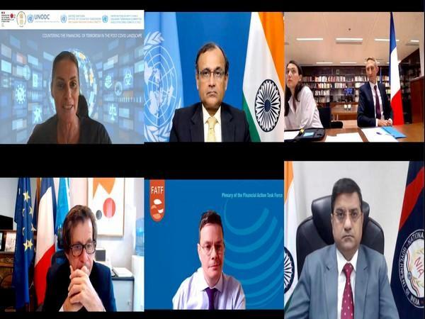 Tirumurti co-hosts high-level event CTWeek on 'Countering Financing of Terrorism in post-Covid landscape' (Photo Credit: Twitter)