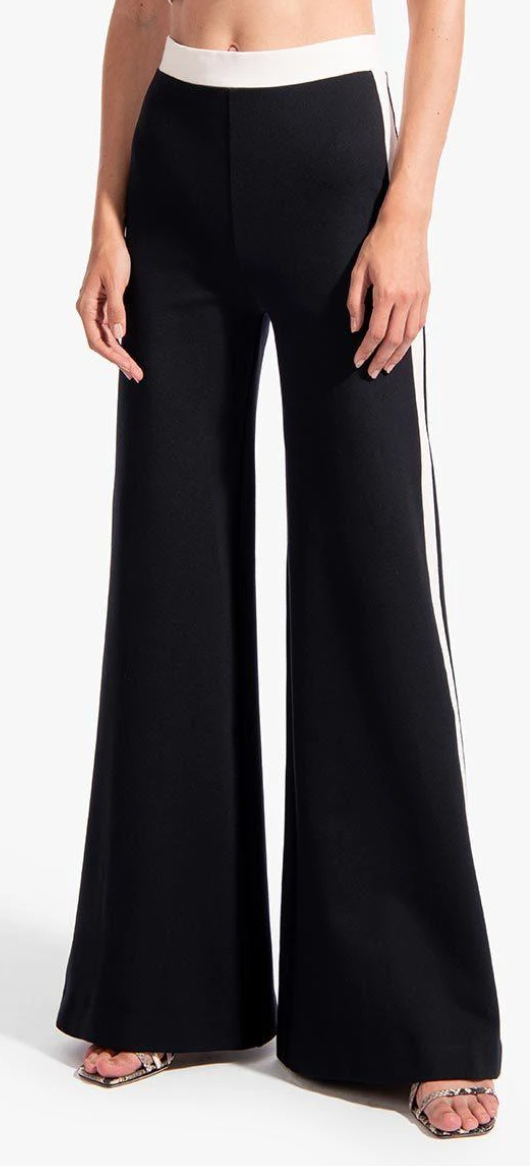 STAUD Milo Pant in Black/White