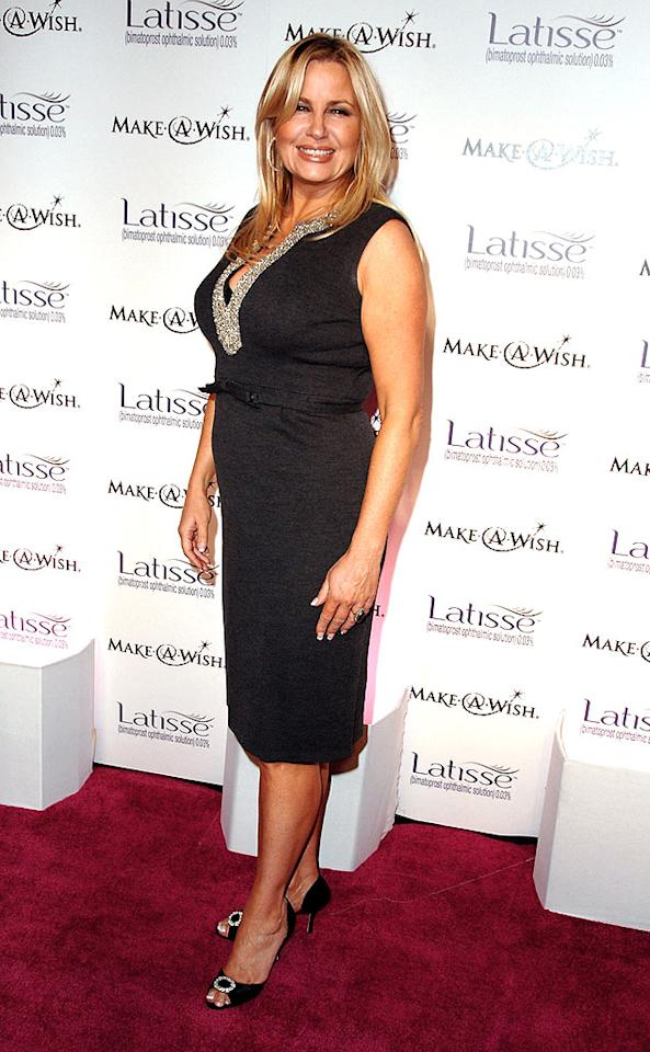 """Funnylady Jennifer Coolidge (""""American Pie"""") looked absolutely fabulous in her bejeweled black dress. Steve Granitz/<a href=""""http://www.wireimage.com"""" target=""""new"""">WireImage.com</a> - March 26, 2009"""