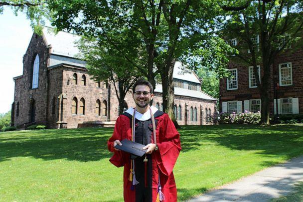 PHOTO: Alexander Freeman, of New Brunswick, New Jersey, is pictured at his graduation from Rutgers University. (Courtesy Alexander Freeman )